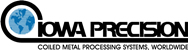 Coil Metal Processing Systems from Iowa Precision assembled in the USA.